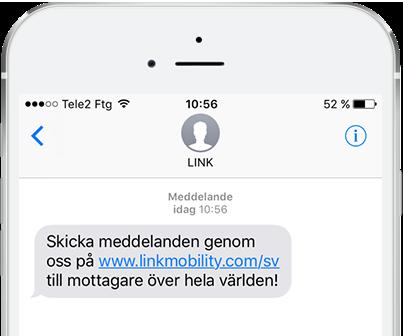 SMS med LINK II